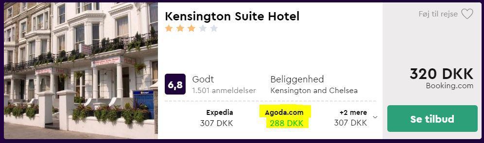 Kensington Suite Hotel - London i England