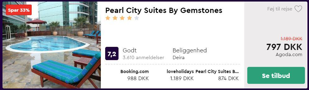Pearl City Suites by Gemstones - Dubai