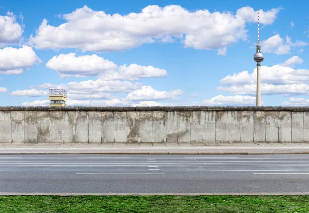 Berlinmuren i Berlin - Tyskland