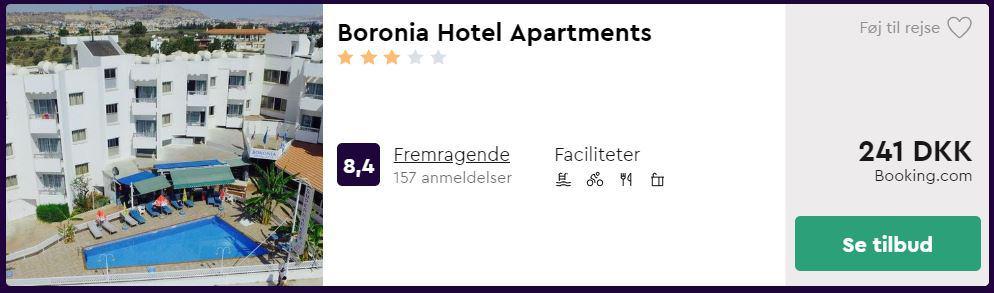 Boronia Hotel Apartments - Larcana på Cypern