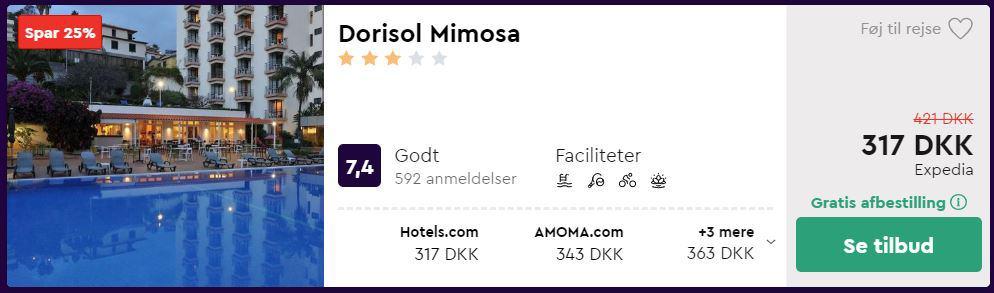 Dorisol Mimosa - Madeira i Portugal