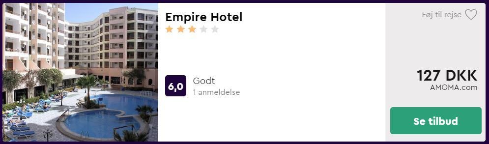 Empire Hotel - Hurghada i Egypten