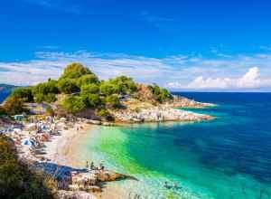 Ferie på Korfu i Grækenland