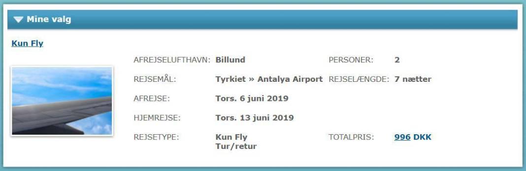 Flybilletter fra Billund til Antalya - Tyrkiet