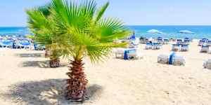 Strand i Alanya - Tyrkiet