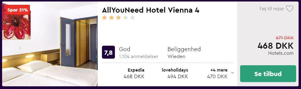 AllYouNeed Hotel Vienna 4 - Østrig