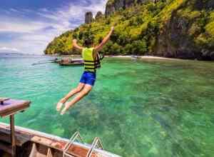Badeferie i Krabi - Thailand