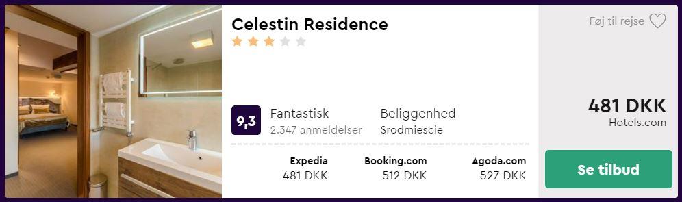 Celestin Residence - Gdansk i Polen