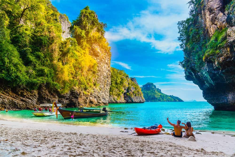 Poda øen - Krabi i Thailand