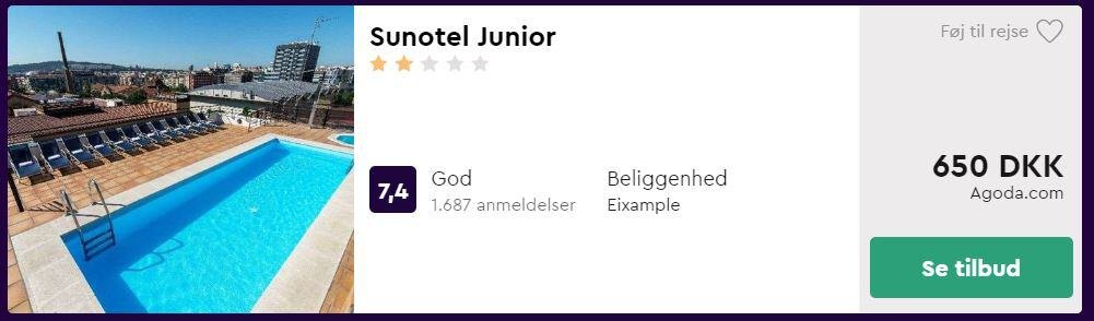 Sunotel Junior - Barcelona i Spanien