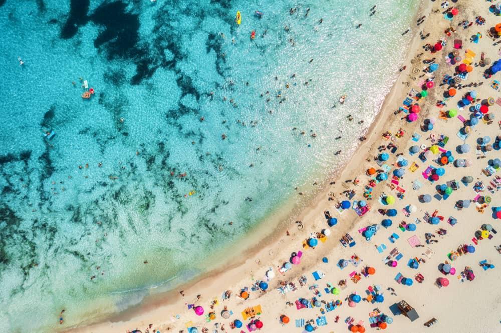 Strand på Mallorca - Spanien