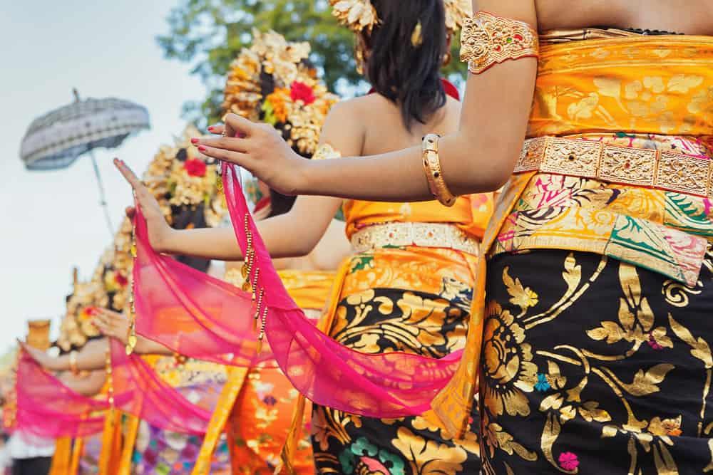 Ubud - balinesisk dans
