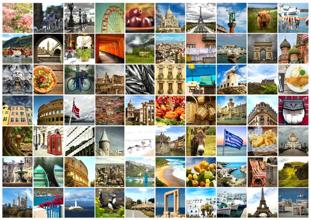 Billeder fra rejsen