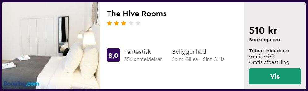 The Hive Rooms - Bruxelles i Belgien