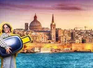 Marsans havnefront - Valletta på Malta