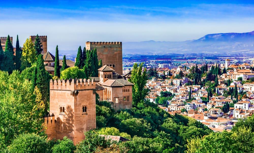 Granada i Andalusien - Spanien