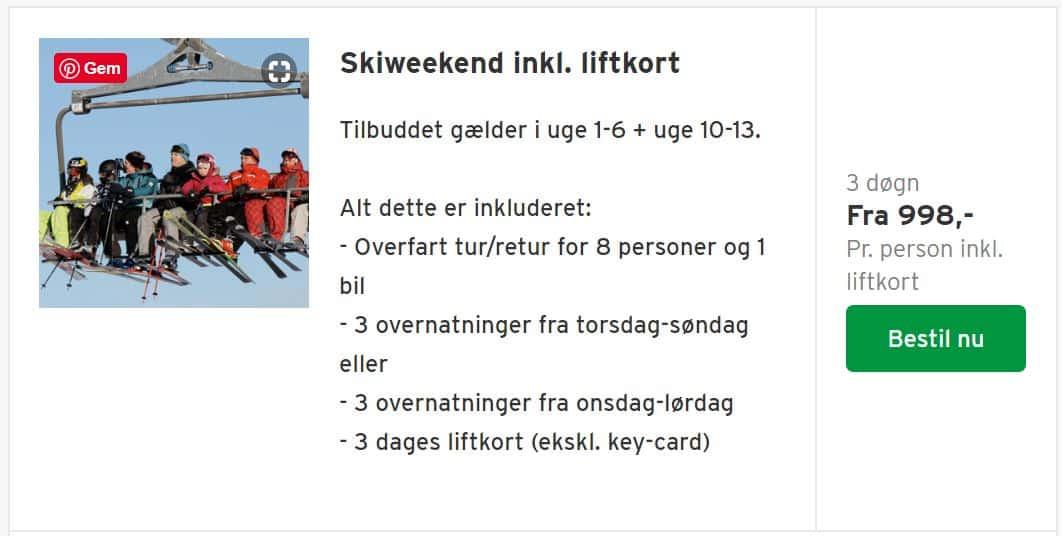 Billigt på ski i Vrådal i Norge