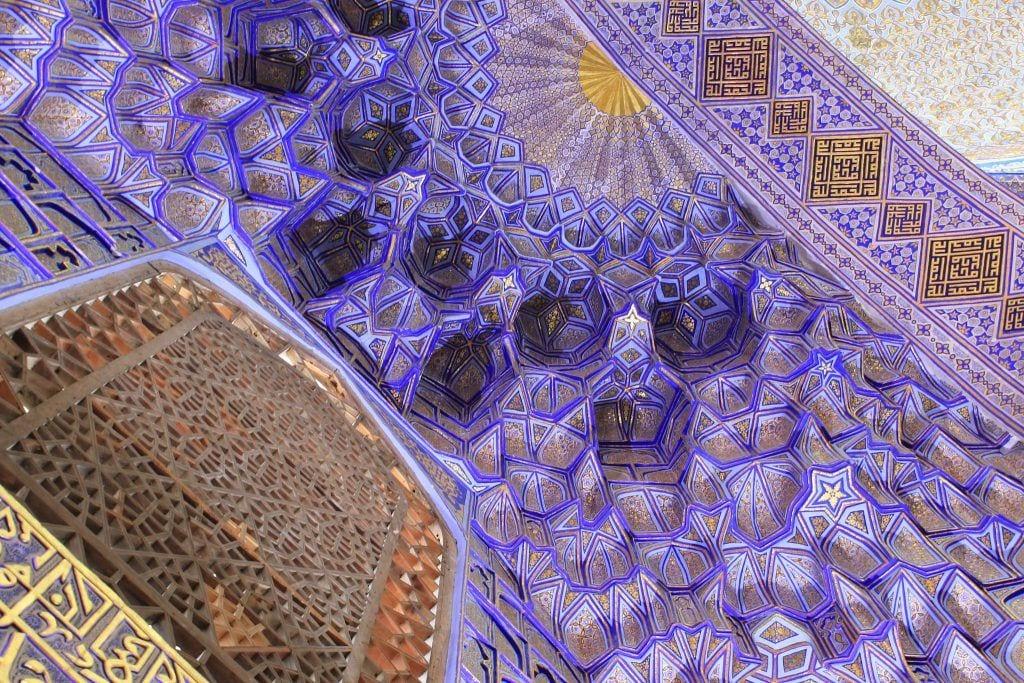 Gur-e-Amir Registan Samarkand - rejser