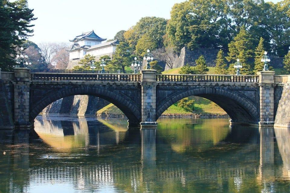 Japan - Tokyo, Indgangen til Kejser Paladset