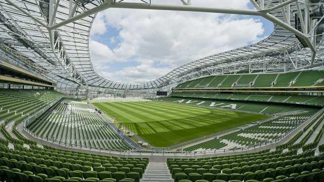 Irland - Dublin, Aviva Stadium - rejser