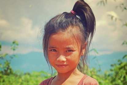 Laos - Luang Prabang - pige - rejse