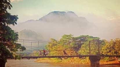 Laos - Luang Prabang - most - putovanje
