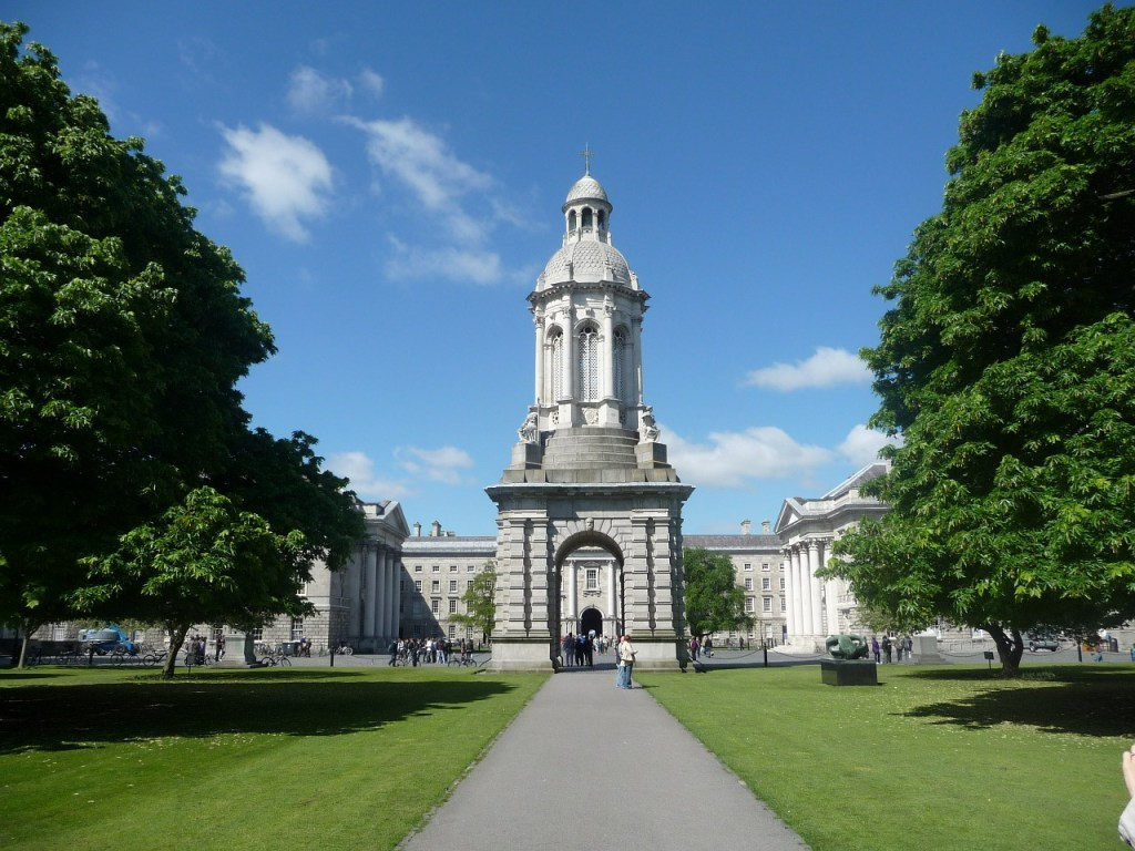 Irland - Dublin, Trinity College - rejser