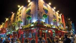 Irland - Dublin, Temple Bar - rejser