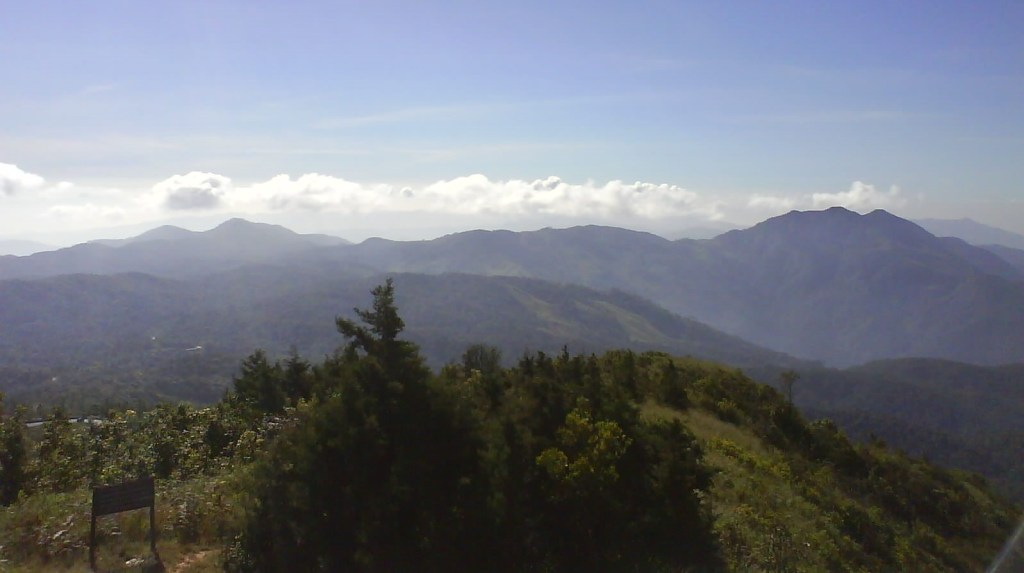 Thailand - Chiang Mai, udsigt fra bjerg - rejser