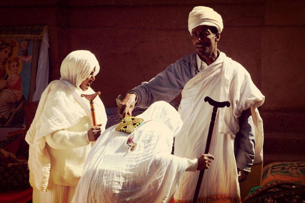 Etiopien - Lalibela. præst - rejser