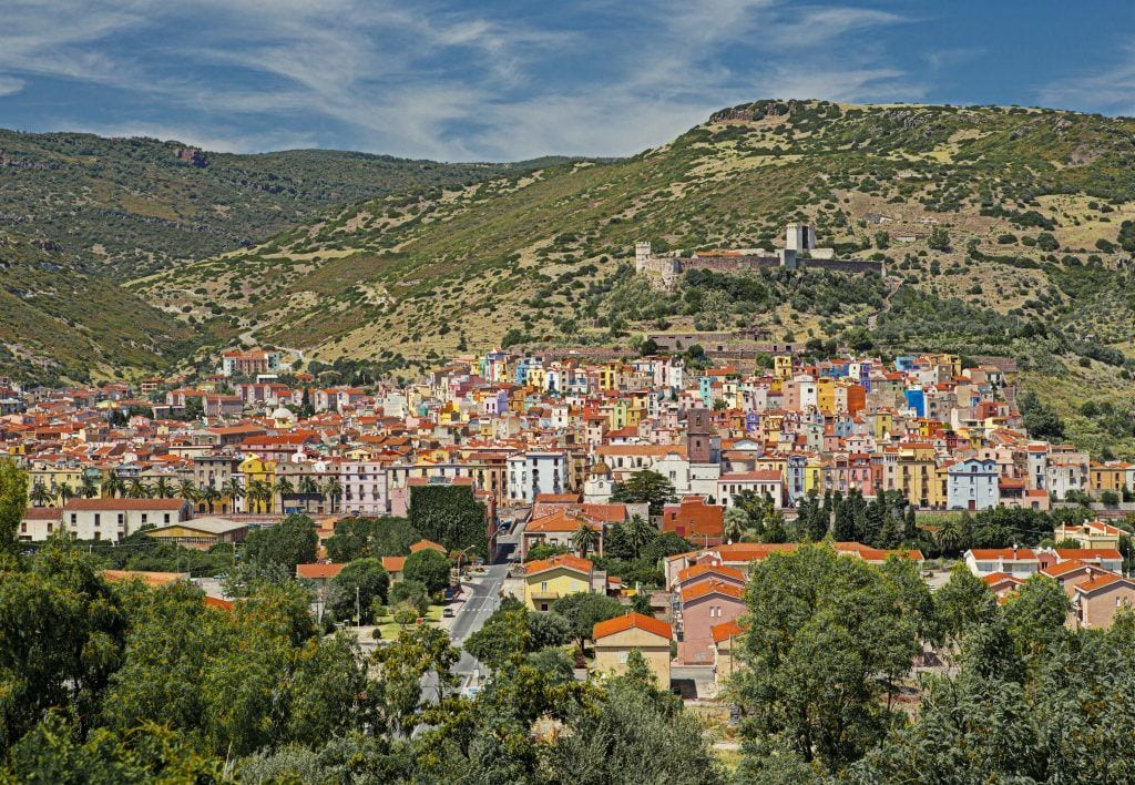 Sardinien Bosa By Natur Rejser