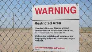 USA - South Dakota, Minutemen, sign - travel