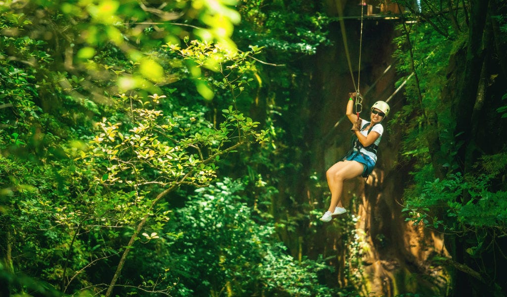 Lamatours.dk - Zipline i Costa Rica - rejser