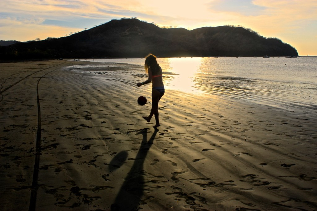 Kosta Rika - plaj, gün batımı (San José) - seyahat