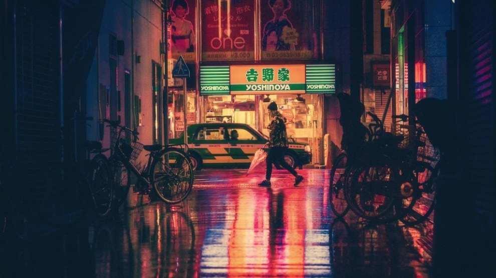 Japan - Osaka, nat - rejser