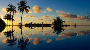 Maldiverne - solnedgang - rejser