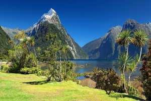 New Zealand - bjerge og vand - rejser