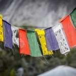 Indien - Ladakh, bedeflag - rejser
