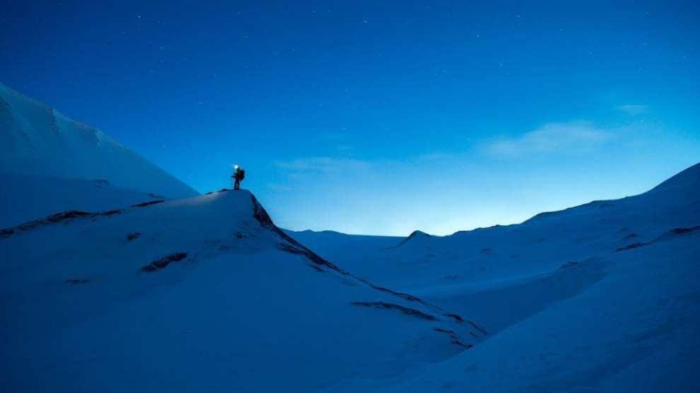Norge - Svalbard, skumring - rejser