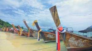 Thailand - strand, både - rejser