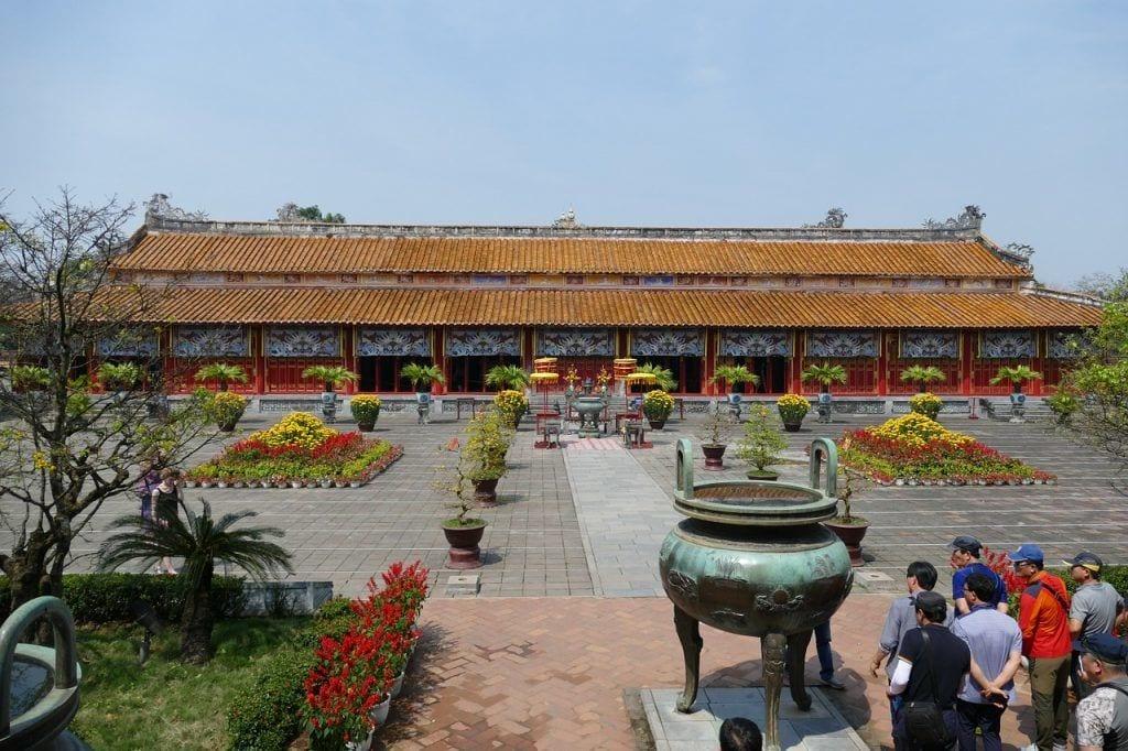 Vietnam - Hue, palads - rejser