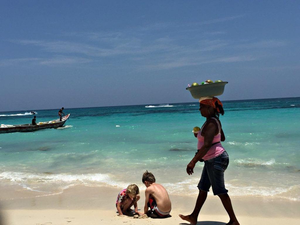 Børn - rejser - strand