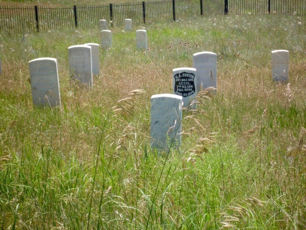 USA - Custers grav i Little Big Horn- rejser