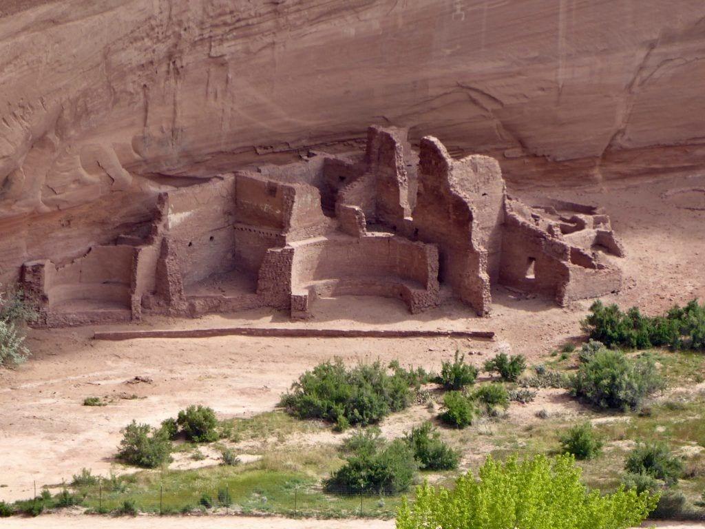 USA - Pueblo Ruin i Canyon de Chelly - Grand Canyon - rejser - Indianerreservat
