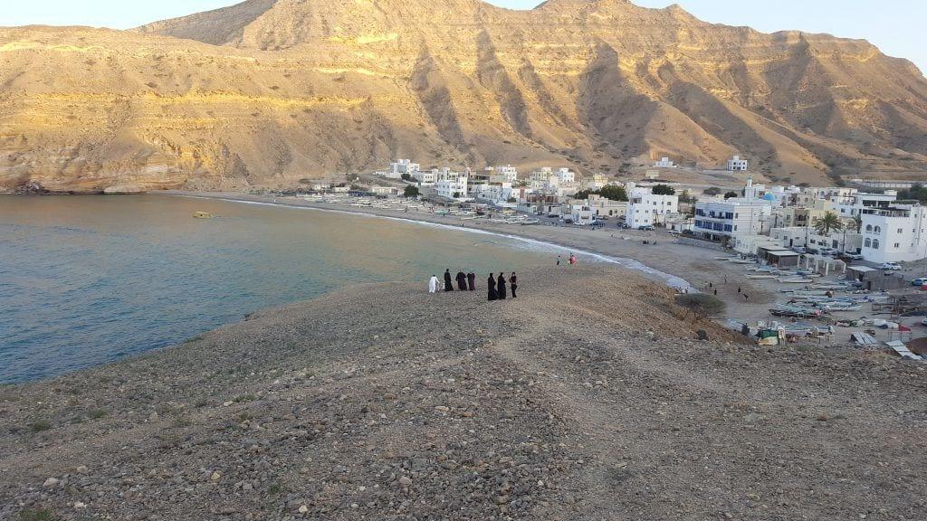 Oman - Qantab stranden i Muscat