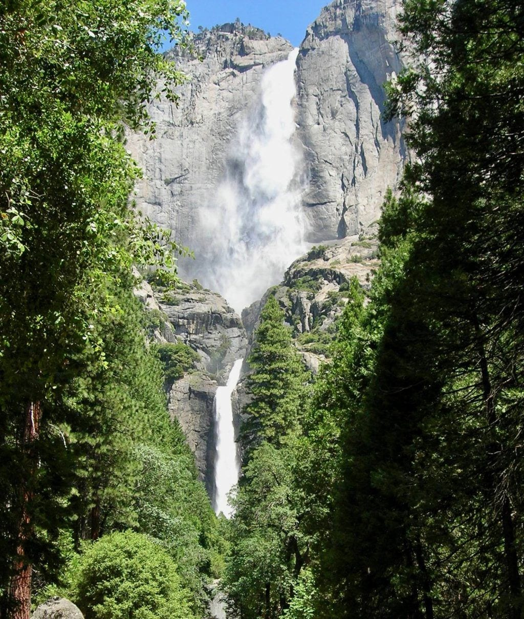 Yosemite - Vandfald