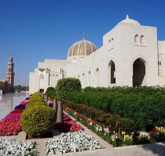 Oman - Muscat - Mosque
