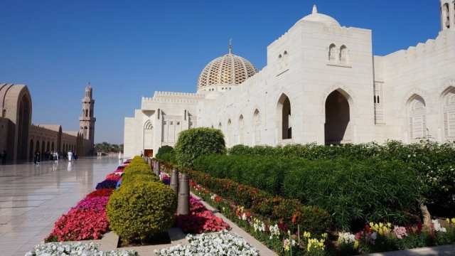Oman - Muscat - Mosque