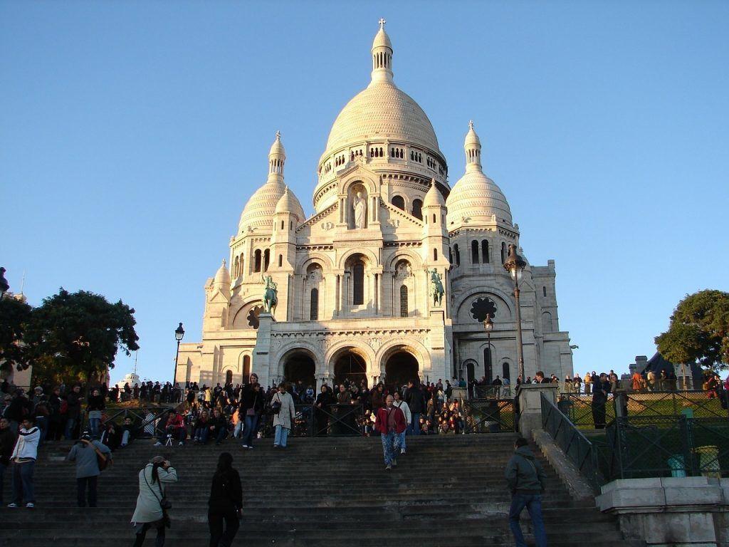 France - Paris, Sacré Coeur - travel