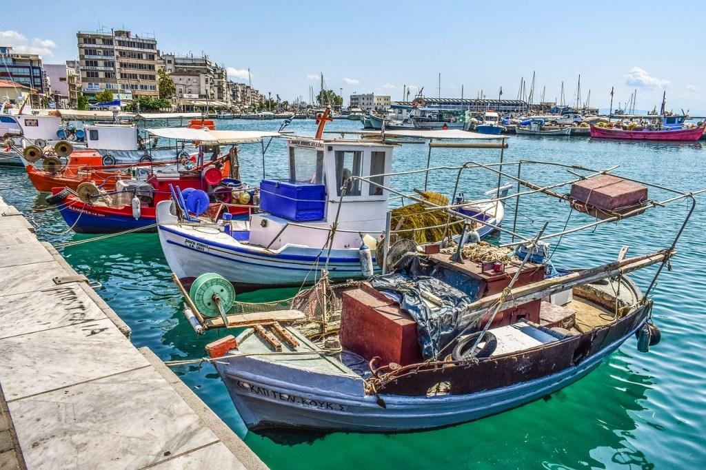 Greece - Volos, boats - travel